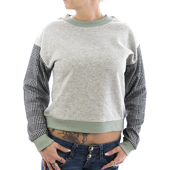 Rock Angel Sweatshirt Helen 1983 light grey 11