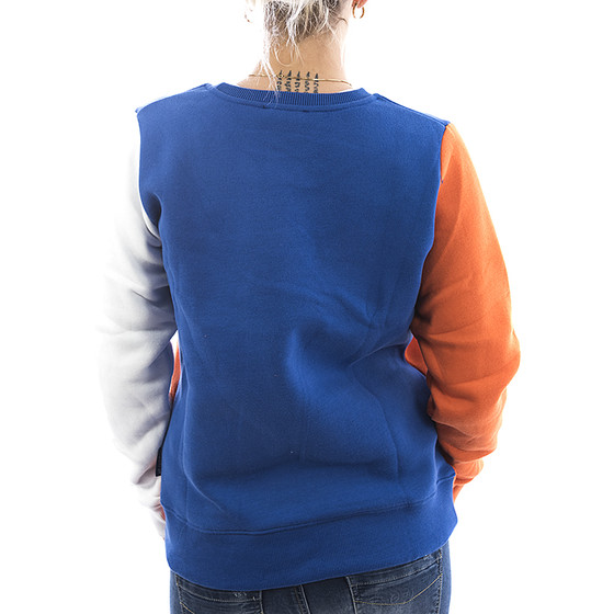 Sublevel Sweatshirt Colourblock 1989 orange 22