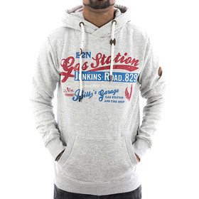 Eight2nine Sweatshirt Gas Station pastel grey 21026 1-1