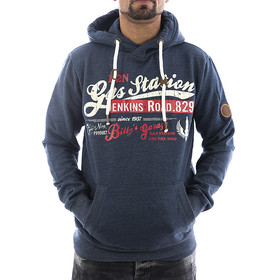 Eight2nine Sweatshirt Gas Station dark blue 1-1
