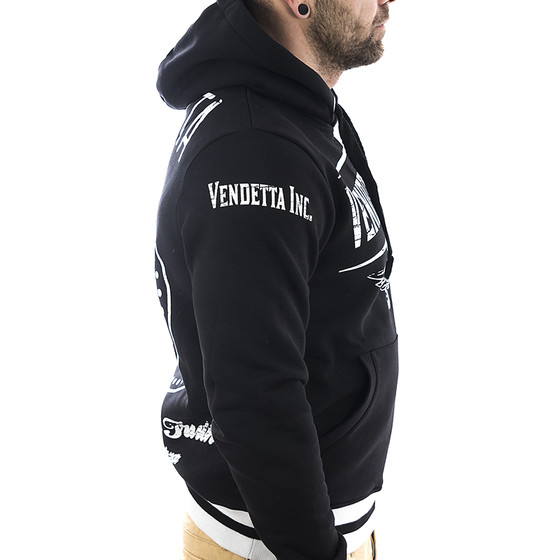 Vendetta Inc. Sweatshirt Bound 4002 schwarz 3