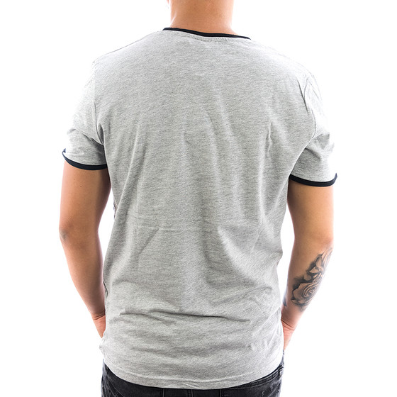 Eight2nine Shirt Logo Stripe 1117 light grey 2-2