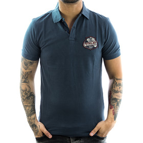 Petrol Industries Poloshirt Mechanic 901 blue 1