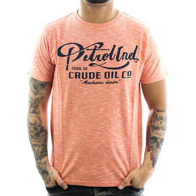 Petrol Industries Shirt Mechanic 617 bright orange 1