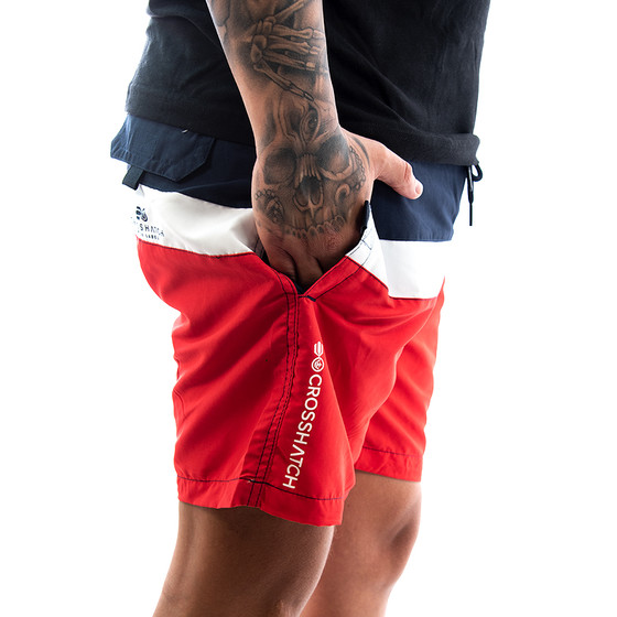 Crosshatch Badehose Warnage 2889 navy 2