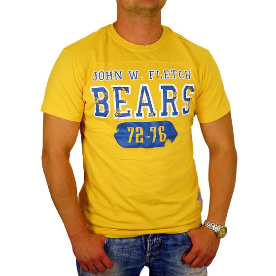 John Fletch T-Shirt Herren 5203 deep yellow Bears M