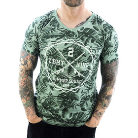 Eight2nine Shirt Palmenblatt 20421 green 1