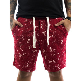 Stitch & Soul Shorts Sprinkled 61824 red 1