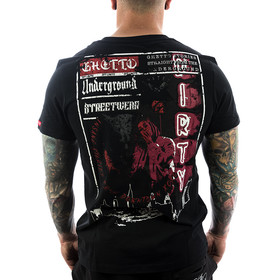Ghetto off Limits Shirt Underground 190309 schwarz 1