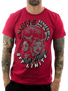 Ghetto off Limits Shirt Streets 190311 red 3XL