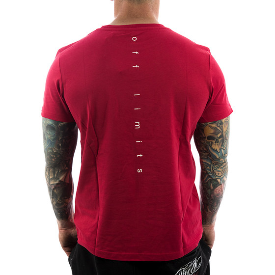 Ghetto off Limits Shirt Robo Skull 190305 red 22