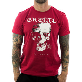 Ghetto off Limits Shirt Robo Skull 190305 rot 1