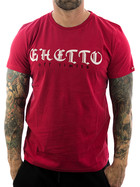Ghetto off Limits Shirt Embro 190310 red 3XL