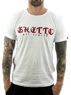 Ghetto off Limits Shirt Embro 190310 weiß 3XL