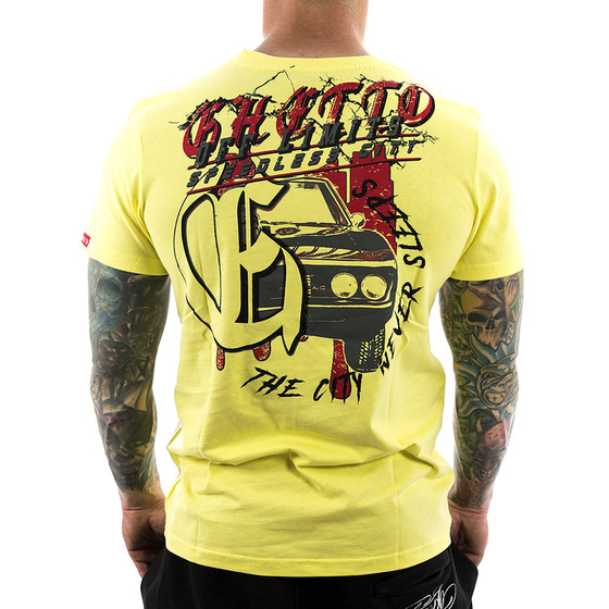 Ghetto off Limits Shirt Sleeps 190306 gelb 1