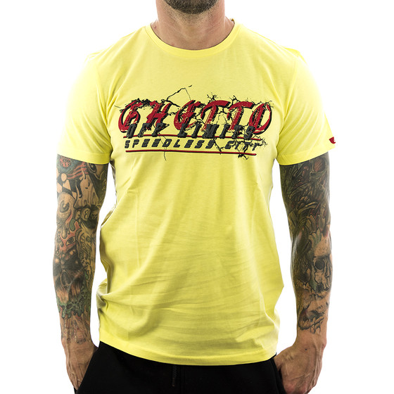 Ghetto off Limits Shirt Sleeps 190306 gelb 2