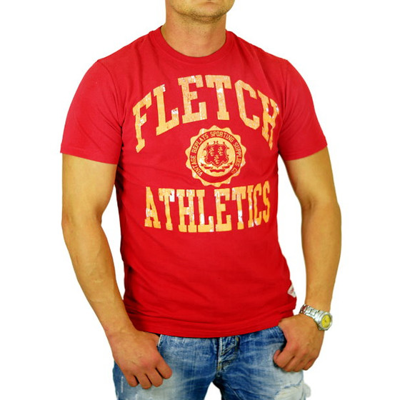 John Fletch T-Shirt Herren 5219 rot Sporting Club S
