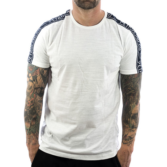 Petrol Industries Shirt TS-Tape 718 bright white 1