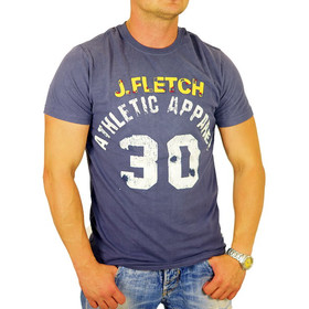 John Fletch T-Shirt Herren 5214 navy Apparel