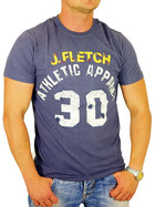 John Fletch T-Shirt Herren 5214 navy Apparel  S