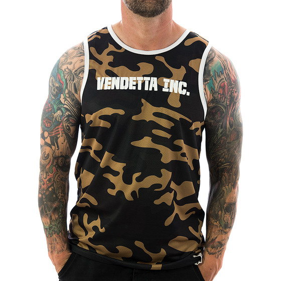 Vendetta Inc. Shirt Tanktop Inc. Sports 6001 camo 1