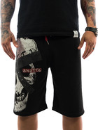 Ghetto off Limits Shorts Skull 190419 antrazit 4XL