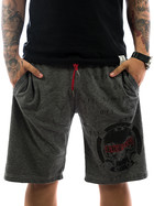 Ghetto off Limits Shorts Limitless 190422 grey 4XL