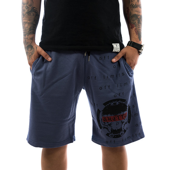 Ghetto off Limits Shorts Limitless 190422 indigo 1