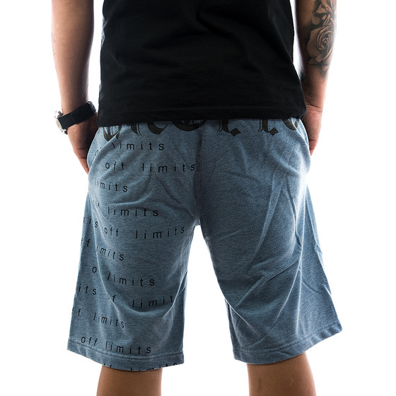 Ghetto off Limits Shorts Limitless 190422 blue 2