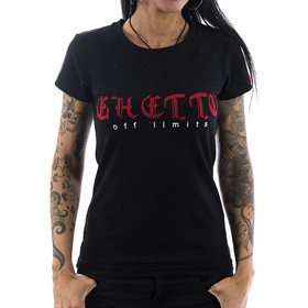 Ghetto off Limits Shirt Embro 190410 black 11
