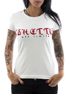 Ghetto off Limits Shirt Embro 190410 weiß XXL