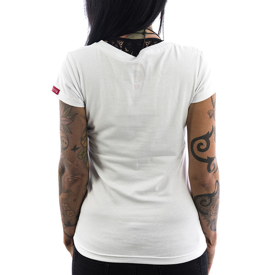 Ghetto off Limits Shirt Laser 190409 white 22