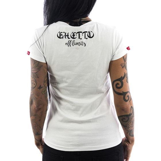 Ghetto off Limits Shirt Ladies 190415 weiß 2