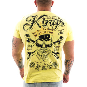 Ghetto off Limits Shirt Kings 190414 yellow 11