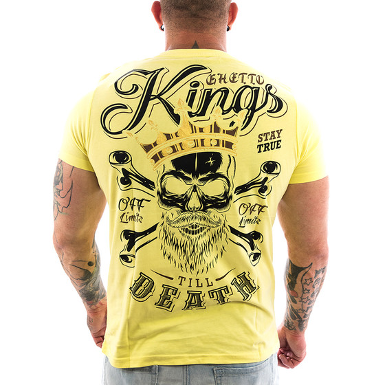 Ghetto off Limits Shirt Kings 190414 gelb 1