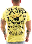 Ghetto off Limits Shirt Kings 190414 yellow 3XL