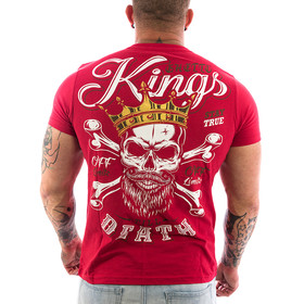 Ghetto off Limits Shirt Kings 190414 red S
