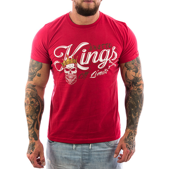 Ghetto off Limits Shirt Kings 190414 rot 2