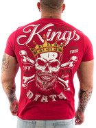 Ghetto off Limits Shirt Kings 190414 rot 3XL