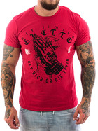 Ghetto off Limits Shirt Rich 190412 red 3XL