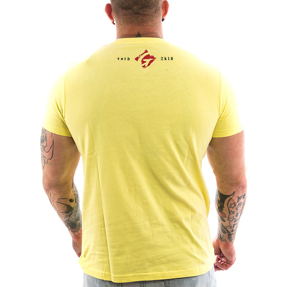 Ghetto off Limits Shirt Rich 190412 yellow 22