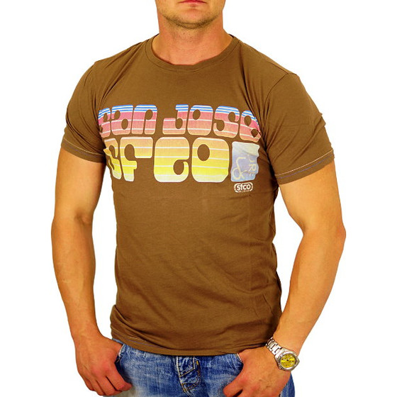 Superfly T-Shirt Herren S-12455 brown California M