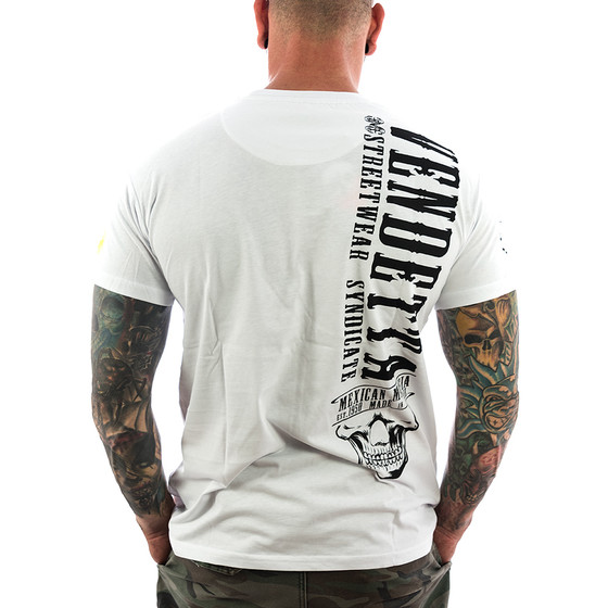 Vendetta Inc. Shirt Mexican Mafia 1071 weiß 2