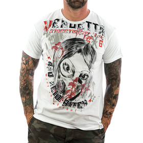 Vendetta Inc. Shirt Insane 1072 weiß 1