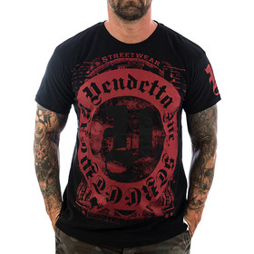 Vendetta Inc. Shirt Blood Logo 1074 schwarz 1