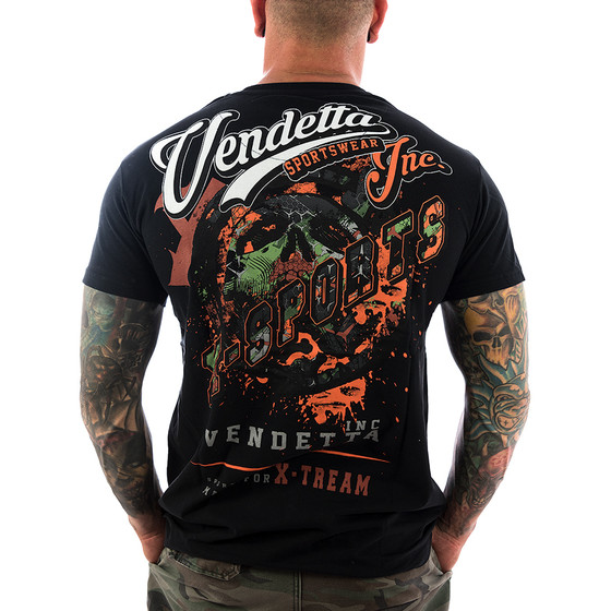 Vendetta Inc. Shirt X-Sports 1073 schwarz 1