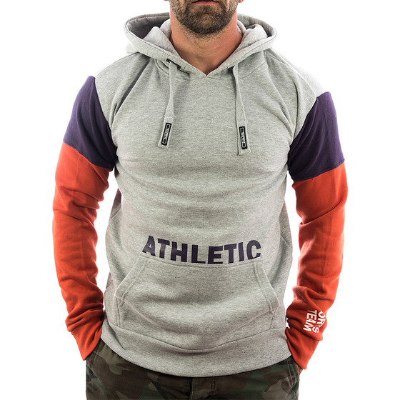 Sublevel Sweatshirt Athletic 21158A light grey 1