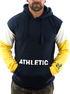 Sublevel Sweatshirt Athletic 21158A dark blue XXL