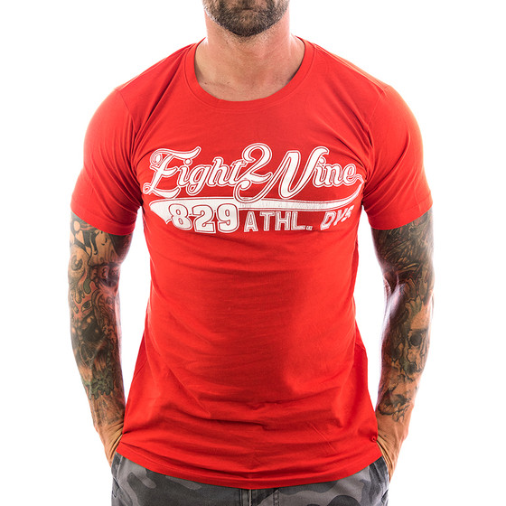 Eight2nine Shirt Athletic 22167 red 1