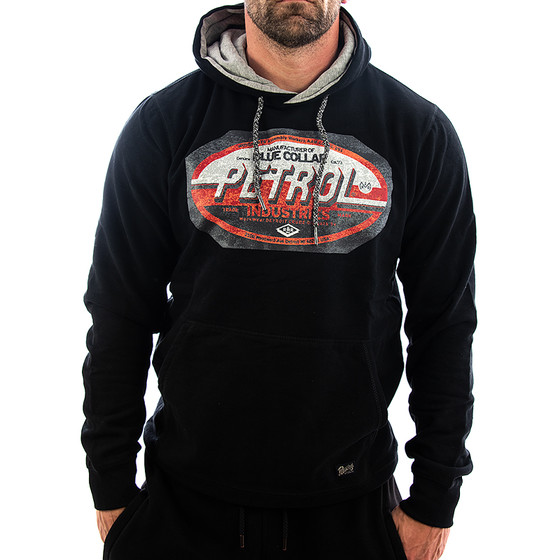 Petrol Industries Sweatshirt Blue Collar 300 schwarz 1